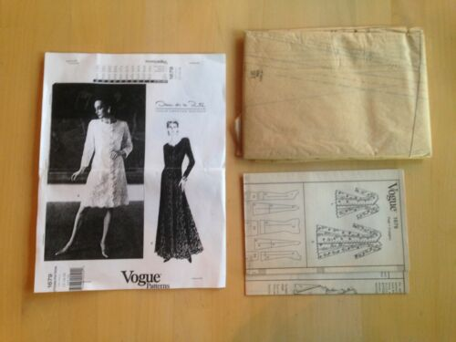 Uncut Vogue NO Envelope LG Sewing Pattern Choose Your Style