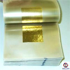 24ct-Gold-Leaf-100-Genuine-100-sheets