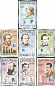 Guinea-Bissau-974-980-complete-issue-unmounted-mint-never-hinged-1988-chess