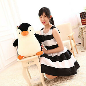 45cm-Big-Giant-Large-Penguin-Stuffed-Soft-Plush-Toy-Doll-Pillow-Bithday-Gift-New