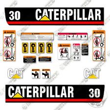Caterpillar Gp30 Decal Kit Forklift Decals Warning Stickers 3m Vinyl