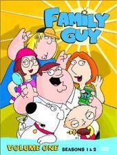 Brand New DVD Family Guy Volume One (1999) Season 1 & 2 Seth MacFarlane