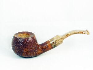 PIPA VOLKAN RADICA Calypso sabbiata Tobacco Pipe 9mm pfeife fatta a mano
