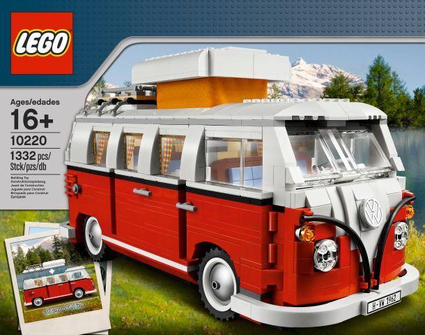 LEGO EXCLUSIF exclusive - 10220 volkswagen t1 camper van-NEUF & OVP