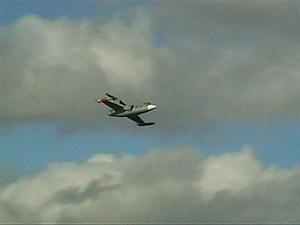 R C Plane diseños de Aire verde Lockheed F-104G Starfighter EDF Kit de corte láser.