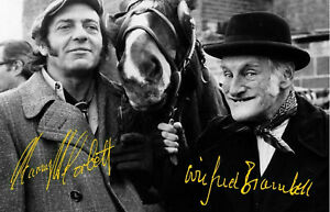 STEPTOE AND SON Harry H Corbett Wilfrid Brambell Signed Autograph PRINT 6x4 Gift