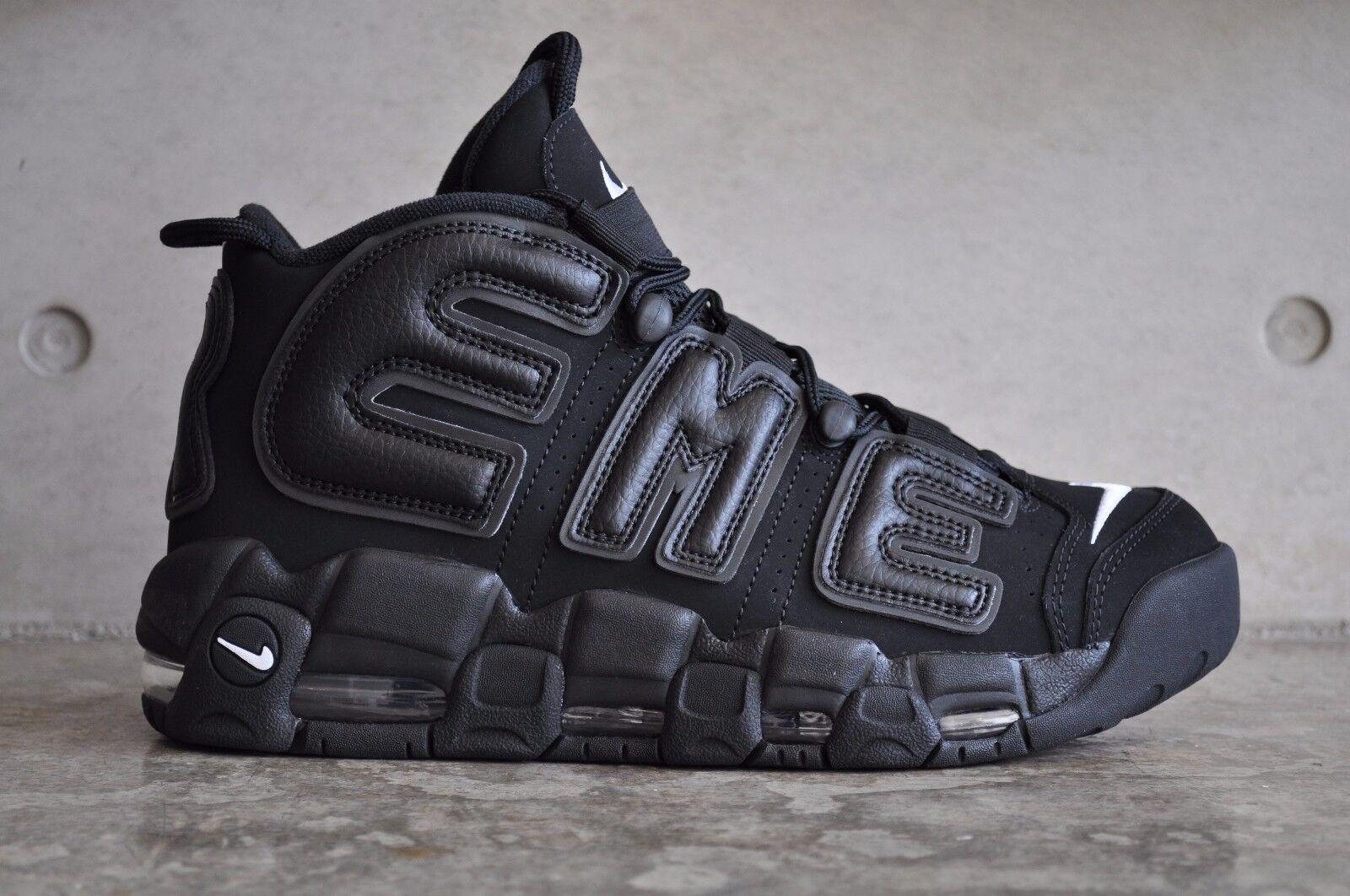Nike Uptempo Uptempo Uptempo Supreme Air MoreNegro/NegroBlanco a8dbb3