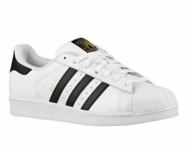 Adidas Superstar Men's Casual Sneakers White Black C77124  Originals KHS