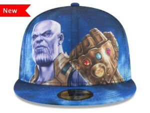 e7722de0114 NEW ERA THE AVENGERS INFINITY WAR ALL OVER FITTED HAT. Brand New ...