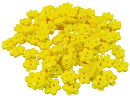 Yellow Daisy Flower Size 24 Buttons *4 Options*