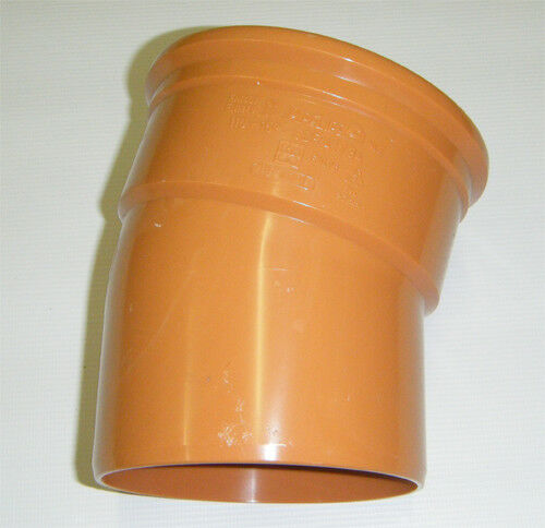 Chamber Bases etc Underground Drainage 110mm Traps Pipe /& Fittings incl Bends