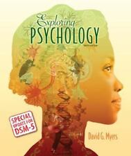 Exploring Psychology by David G. Myers and C. Nathan DeWall (2014, Paperback, 9th Edition)