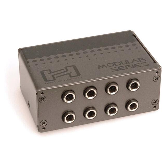 Hosa PDR-369 HOSA PATCH BAY XLR3F XLR3M PDR 369 12 point channel patchbay