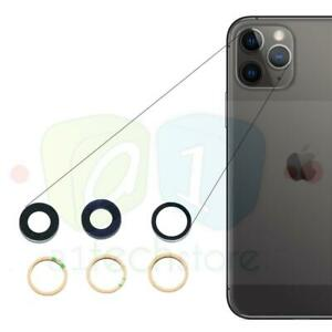 For-Apple-iPhone-11-PRO-MAX-OEM-Replacement-Rear-Glass-Camera-Lens-Part-Adhesive