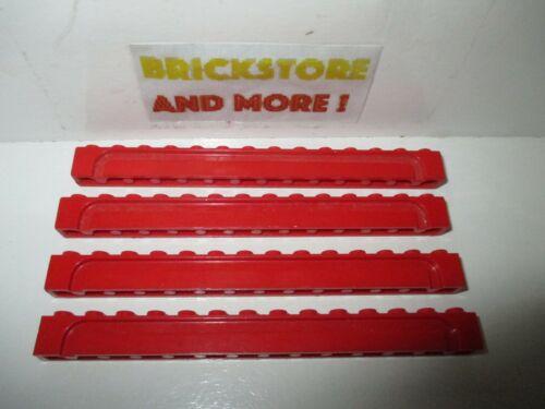 Choose Quantity Lego Brick Brique Groove 1x14 14x1 4217 Red//Rouge//Rot