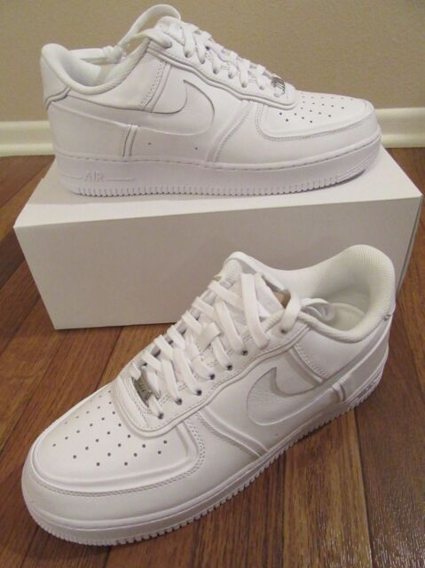 7bbcde1cfb193 Nike Air Force 1 John Elliott Size 11.5 White White White AO9291 100 New NIB