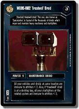 Star Wars CCG BB Premiere Limited WED15-1662 /'Treadwell/' Droid NrMint-MINT