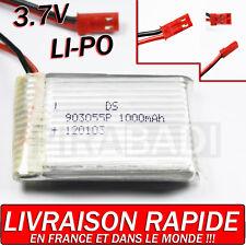 1 ACCU BATTERIE LI-PO DS 3.7V 1000Mah PCM 120103 LIPO BATTERY + CONNECTEUR • PRO