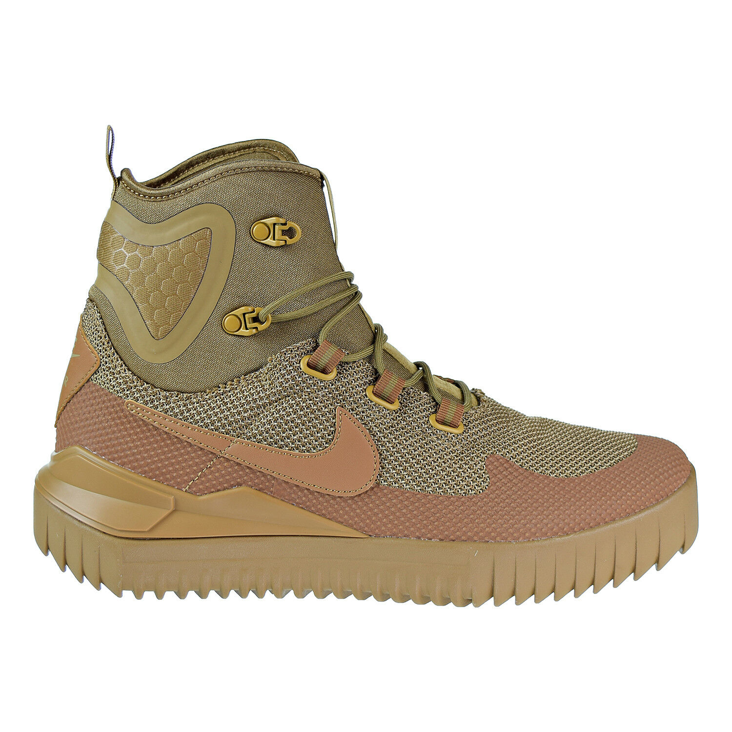 Nike Air Wild Mid Men's shoes golden Beige Ale Brown 916819-200