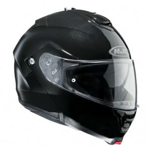NEU-HJC-Helm-IS-MAX-II-2-schwarz-glaenzend-Gr-XXL-63-64-Klapphelm-Sonnenblende