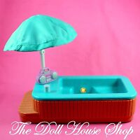 Hot Tub Spa Swimming Pool Fisher Price Loving Family Special Townhouse Dollhouse