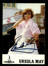Ursula May Autogrammkarte Original Signiert ## BC 88729