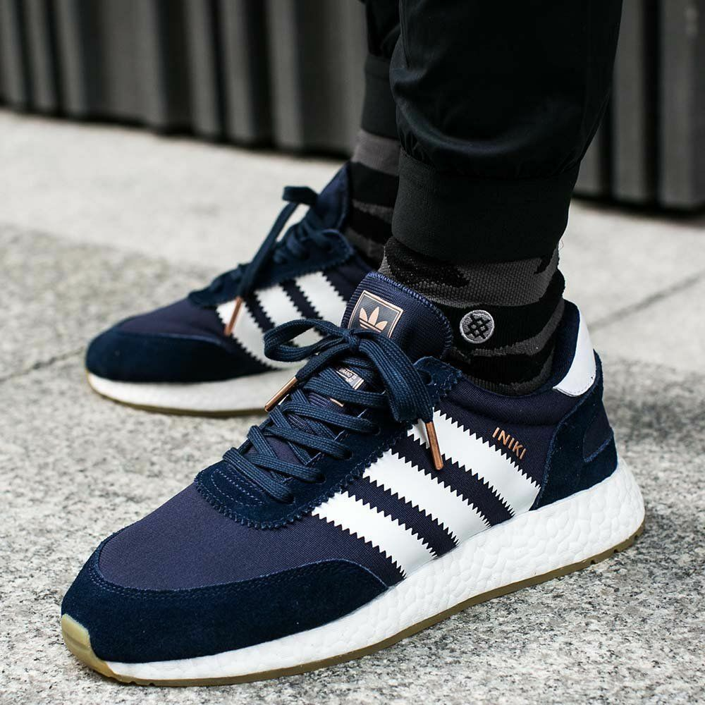 Adidas Iniki Runner Collegiate Navy Size 11.5. BY9729 yeezy nmd ultra boost pk