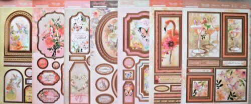 Oro Rosa momentos frustrado A4 Hunkydory Topper Hoja /& 2 juego tarjeta A4 Nuevo