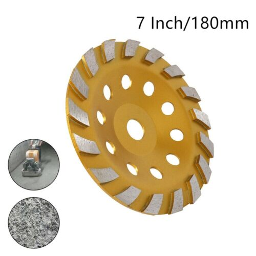 7Inch 180mm Diamond Segment Grinding Wheel Cup Grinder Disc for Concrete Granite