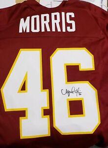 Details about NFL Washington Redskins Alfred Morris #46 Autographed Signed Jersey by Nike Sz L