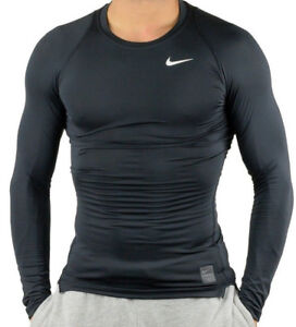 Nike-Pro-Cool-Compression-Long-Sleeve-Top-Herren-Kompressionsshirt-703088-010