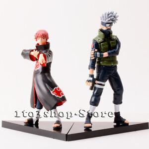 Naruto Shippuden Kakashi Hatake & Sasori 2 Pcs Action Figures Set Toys Gift