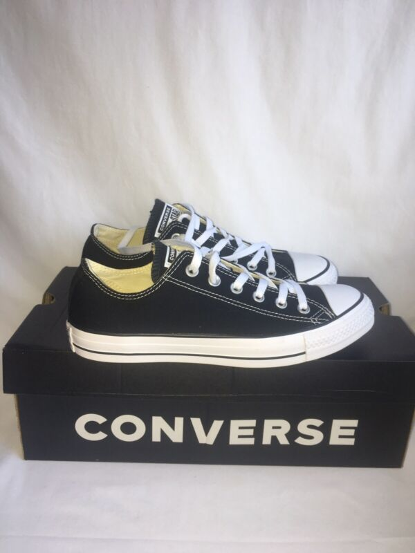 Black Converse All Star Unisex Trainers Size Uk 6 Eu 39 Brand New Rrp £109