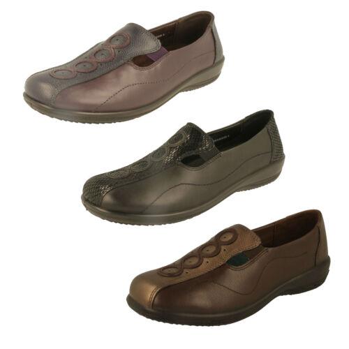 Adora EE//EEE Ladies Padders Dual Fit Loafers
