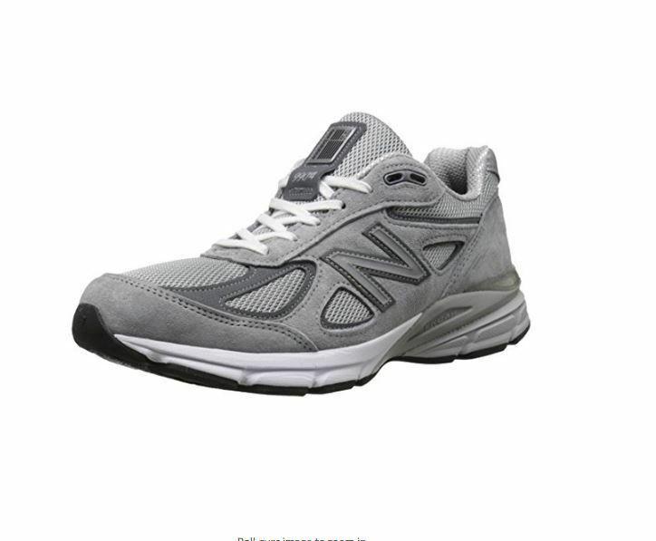 STORE DISPLAY New Balance M990GL4 Men's Grey Running Sneaker Size 12.5 D