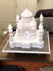 18 Quot Marvelous Marble White Taj Mahal Statue Memorable Gift