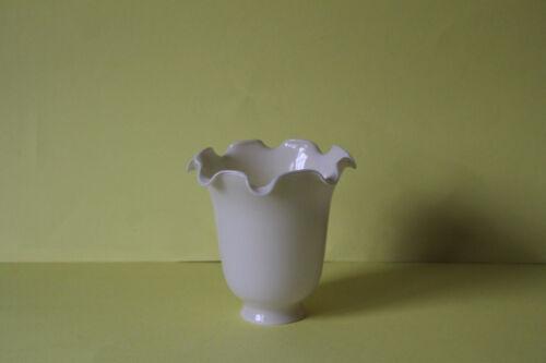 traumhafter Lampenschirm Kuppel in Blütenform Creme 6792.0