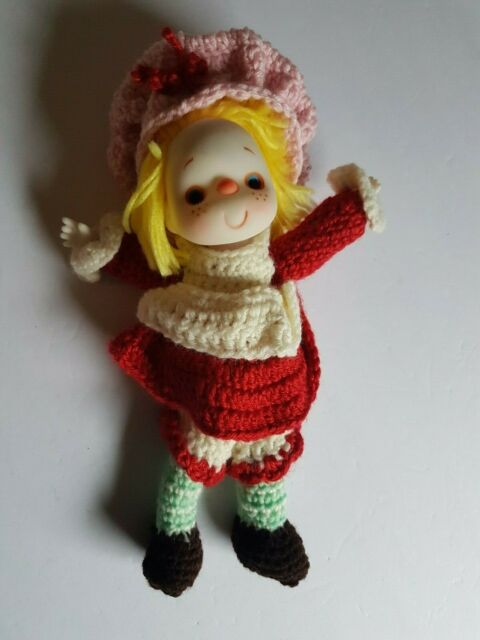 Ice Cream Doll Handmade 10 Inches Blonde Vintage