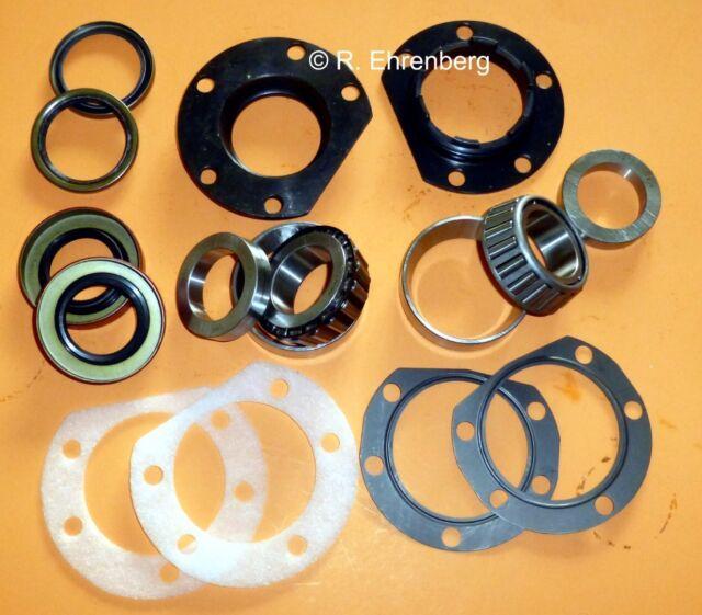 Mopar REAR WHEEL BEARING Kit 8¾ 8.75 W/ Adjuster/Retainers/Seals A-Body Dart etc
