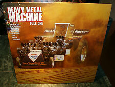 HEAVY METAL MACHINE PULL ONE LP 1ST PRESSING 1987 METAL COMP. RARE OOP HTF