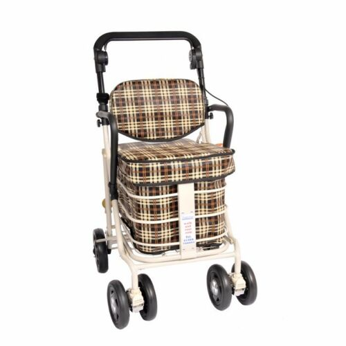 new trolley with seat arms /& backrest  navy