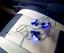 12V-Auto-Interior-Decorative-Atmosphere-Lights-4-x-3-LED-BLUE-Light-Glow-Lamp thumbnail 3