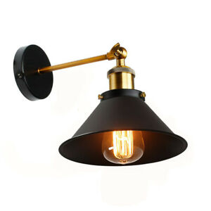 Modern-Vintage-Wall-Light-Lamp-Retro-Industrial-Rustic-Sconce-Fitting-Fixture-UK