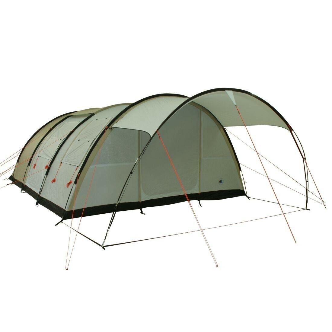 Leighton 6 pers. Tenda famiglia 5000mm Tenda tunnel impermeabile Tenda campeggio