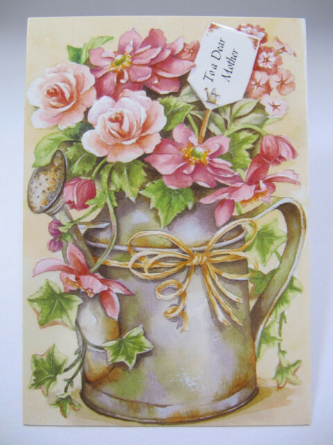 Hallmark Bouquet Of Flowers To A Dear Mother Birthday Greeting Card