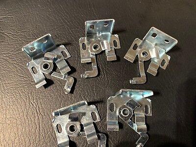 Fiducioso 5 X Tenda Veneziana In Metallo 25mm Staffe Universale Girevole-cieco Pezzi Di Ricambio- Fresco In Estate E Caldo In Inverno