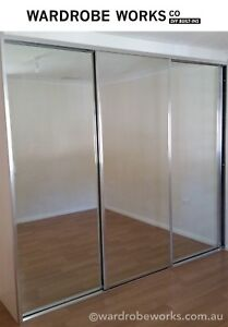 Image Is Loading Built In Wardrobe Sliding Doors Made To Measure