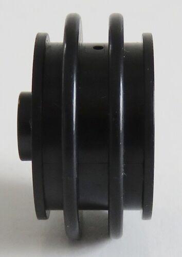 # 2994 LEGO Felgen / Räder / Wheels 30.4 x 14 VR 2 Stück schwarz