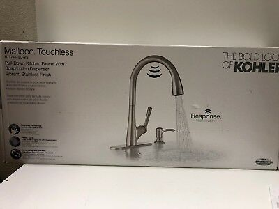 R Kitchen Sink Faucet Kohler R77748-SD-VS Malleco