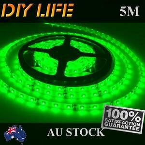 Waterproof-12V-Green-5M-3528-SMD-300-Leds-LED-Strips-Led-Strip-Lights-Car-Boat